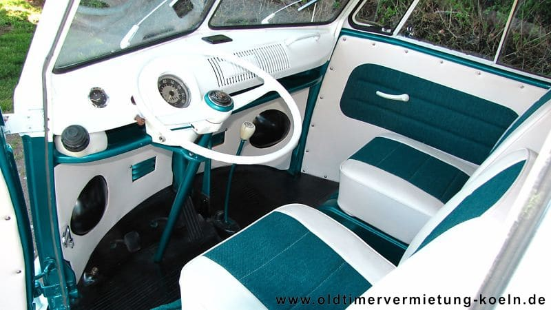 Vw Bulli T1 De Luxe Blau Bj 1965 Classic Car Events