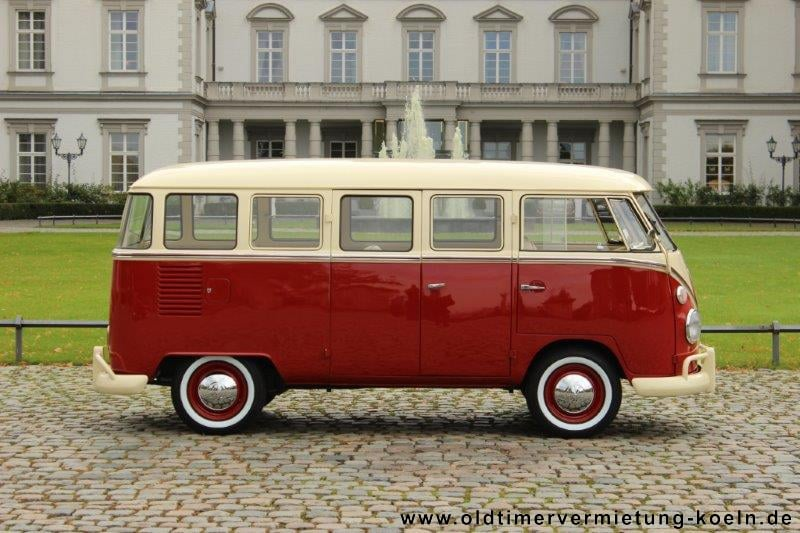 vw bulli t1 de luxe rot classic car events oldtimer gmbh. Black Bedroom Furniture Sets. Home Design Ideas