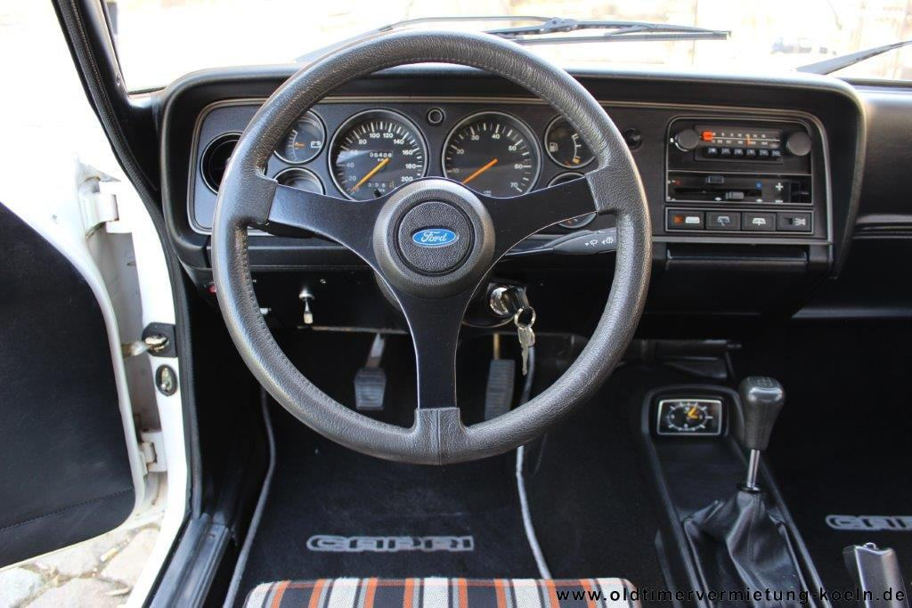 Ford Capri Cockpit