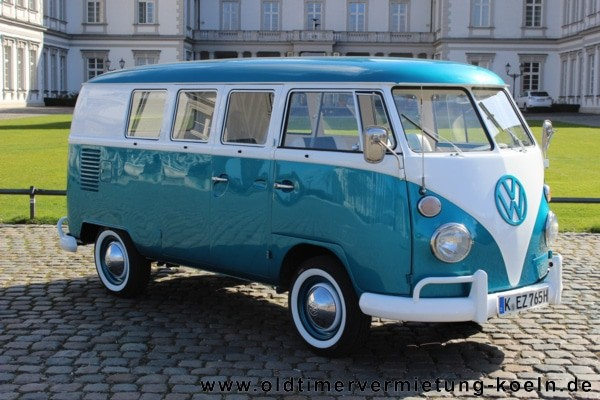Vw Bulli T1 De Luxe Blau Bj 1965 Classic Car Events