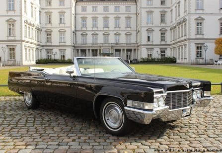 cadillac deville convertible bj 1969 classic car events oldtimer gmbh. Black Bedroom Furniture Sets. Home Design Ideas