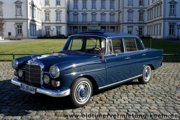 mercedes 190c heckflosse classic car events e k. Black Bedroom Furniture Sets. Home Design Ideas